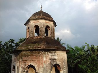 Jagannath Temple or Rath Temple, Puthia 10.jpg