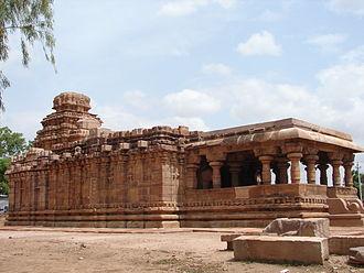 Amoghavarsha - Jaina Narayana temple Pattadakal built by Rashtrakuta Amoghavarsha