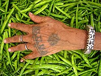 Jaipuri tribal hand tattoo.jpg