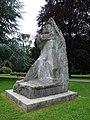 Jakob Probst (1880–1966), Hodler-Krieger oder Marignano-Krieger, 1944-45, Soldatendenkmal. 1955 eingeweiht durch General Guisan, Stadtpark Olten (6).jpg