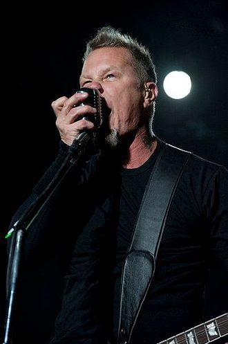 James Hetfield - Hetfield playing in Mexico in 2010