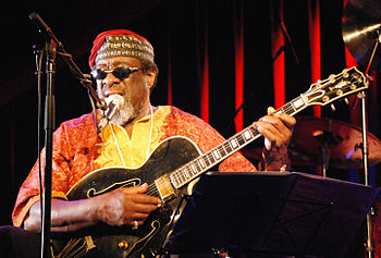 English: James Blood Ulmer, Innsbruck 2011, wi...