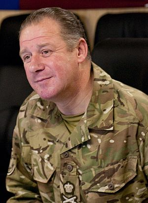 James Bucknall - Bucknall in Afghanistan in 2010 Image courtesy of ISAF