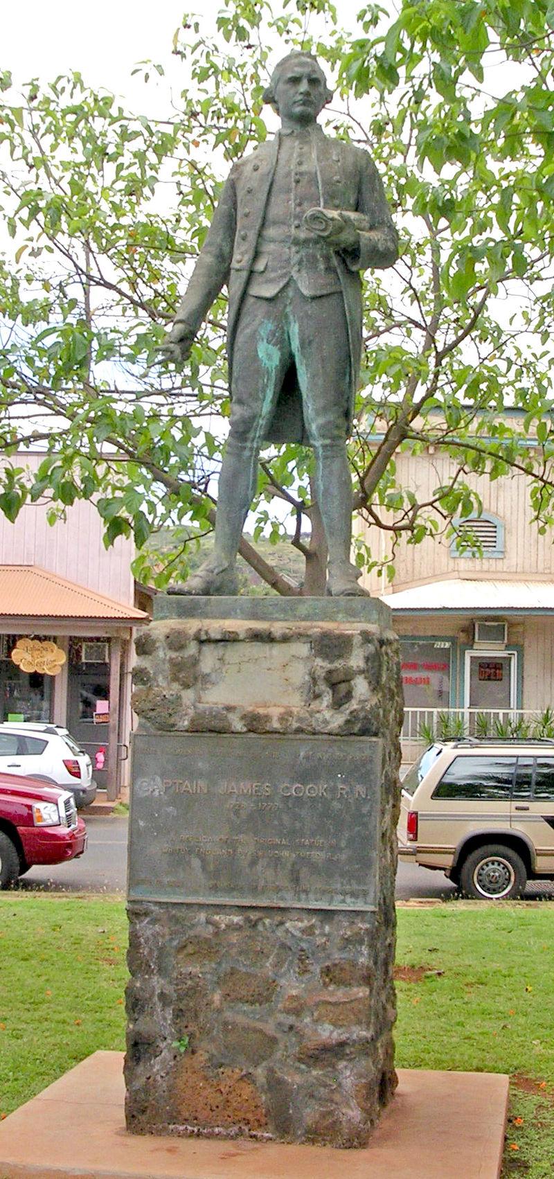 James Cook, Waimea Kauai.JPG