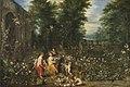 Jan Brueghel d. Ä. (und Werkstatt) und Hendrik van Bal - Flora im Blumengarten - 828 - Bavarian State Painting Collections.jpg