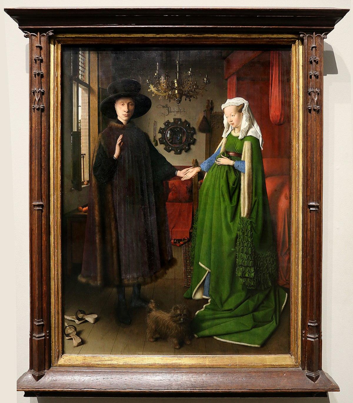 Wonderlijk File:Jan van eyck, i coniugio arnolfini, 1434, 01.jpg - Wikimedia SG-25