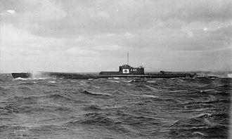 Type B submarine - I-45 in 1943