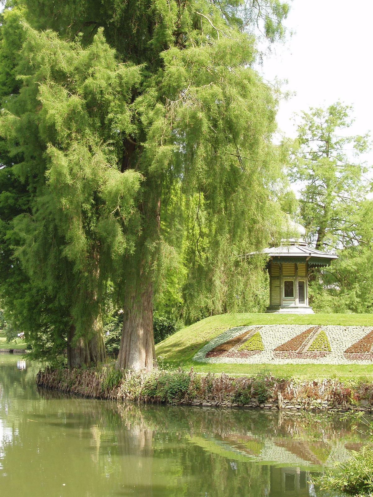 Jardin du parc wikip dia for Jardin l encyclopedie