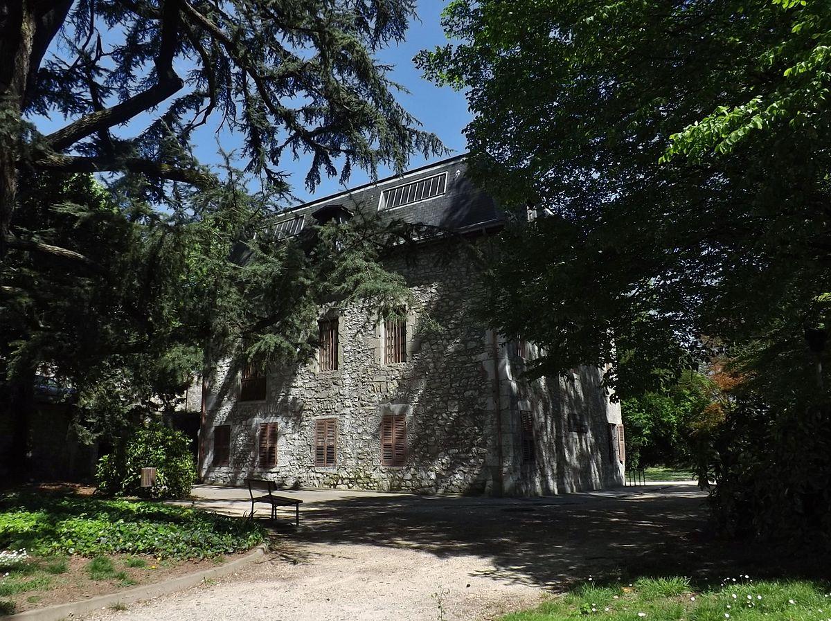 Mus um d 39 histoire naturelle de chamb ry wikip dia for Histoire des jardins wikipedia