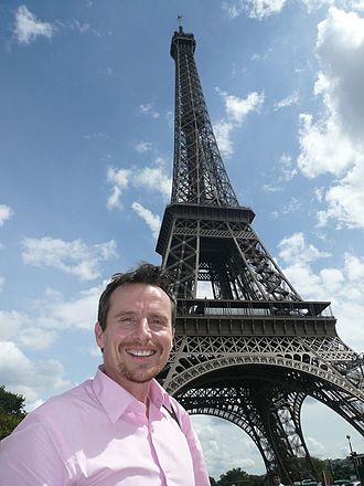 Jason Dasey - Jason Dasey in Paris to cover the 2008 French Open