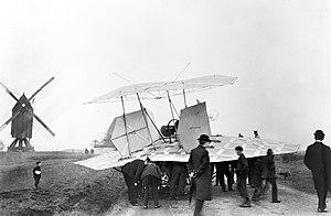 Karl Jatho -  Jatho biplane 1907 at Vahrenwalder Heide