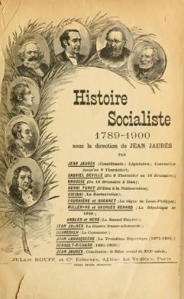 Jaurès - Histoire socialiste, I.djvu
