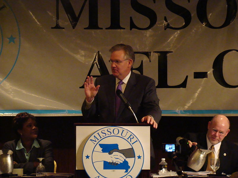 File:Jay Nixon at the Missouri AFL-CIO State Convention.jpg