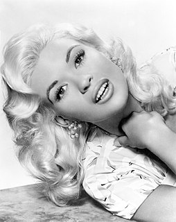 Jayne Mansfield American actress, singer, model