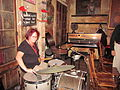 Jazz Campers at Preservation Hall Sue F Drums.jpg