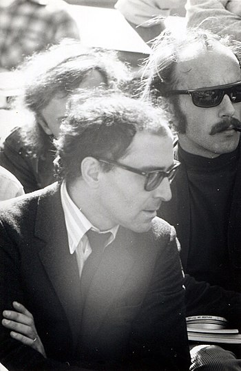 Jean-Luc Godard at Berkeley%2C 1968 %282%29