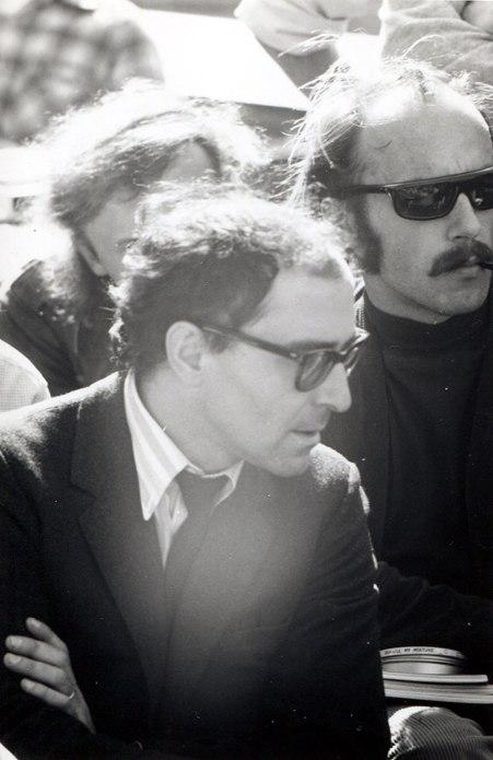 Jean-Luc Godard at Berkeley, 1968 (2)
