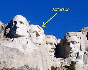 Photo: Jefferson_on_Mt_Rushmore.jpg Thomas Jef...