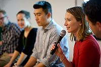 Jennifer Billock, CEO Couchsurfing, at Sharers Talk.jpg