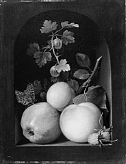 An Apple, caville rouge, and other Fruits