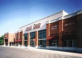 Jewel (supermarket) - A current Jewel-Osco combo store.