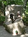 Jim Cronin Memorial, Monkey World 1.jpg