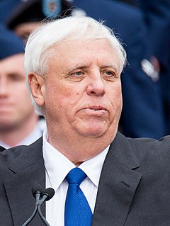 Jim Justice 36th Governor of West Virginia