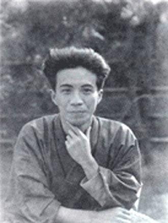 Jirō Osaragi - Osaragi Jirō in 1925