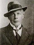 Joel Pettersson. Foto från 1916.
