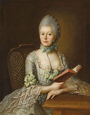 Landgravine Victoria of Hesse-Rotenburg - Image: Johann Heinrich Tischbein d.Ä. Bildnis der Anna Victoriamaria von Rohan, Prinzessin von Soubise