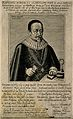 Johann Kueffer. Line engraving by J. van der Heyden, 1631. Wellcome V0003277.jpg