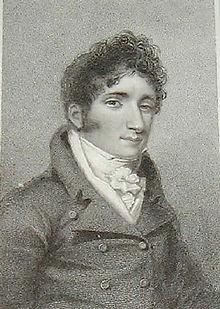 """John Braham als """"Lord Aimworth"""", Stahlstich von Thomson/Foster, 1818 (Quelle: Wikimedia)"""