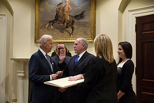 John O. Brennan - Brennan being sworn in as CIA Director, March 8, 2013