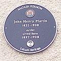John Henry Martin blue plaque IMG 20170219 105519 martin (32175285953).jpg