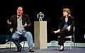 John Lasseter, Margaret Weitekamp, 2012.jpg