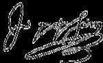 John Popham signature.png