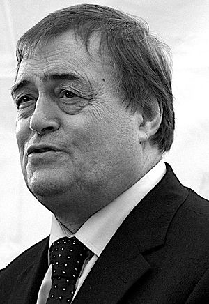 Labour Party (UK) deputy leadership election, 1994 - Image: John Prescott on his last day as Deputy Prime Minister, June 2007 cropped