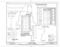 John Sill House, Lyme Street, Old Lyme, New London County, CT HABS CONN,6-LYMO,10 (sheet 10 of 12).png