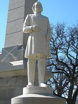 Confederate War Memorial (Dallas) - Image: Johnston 2