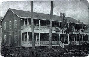 Kiln, Mississippi - Jourdan River Lumber Company hotel