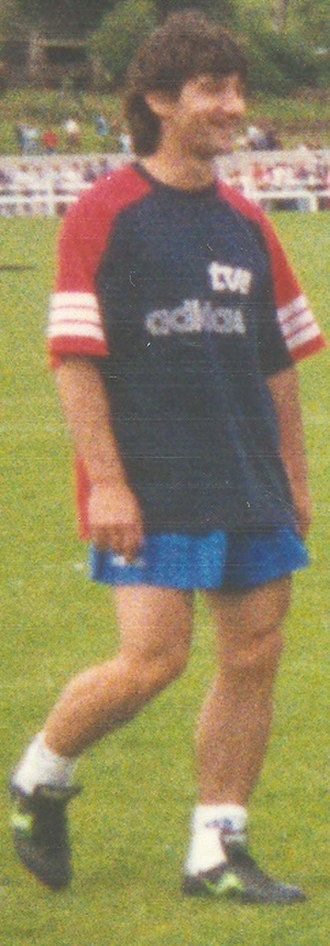 José Mari Bakero - Bakero training with Spain in 1994