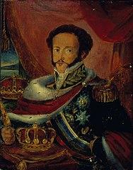 Retrato de Dom Pedro I do Brasil e IV de Portugal