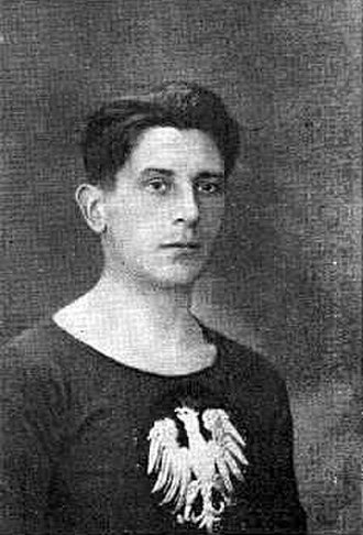 Józef Garbień - Garbien circa 1925