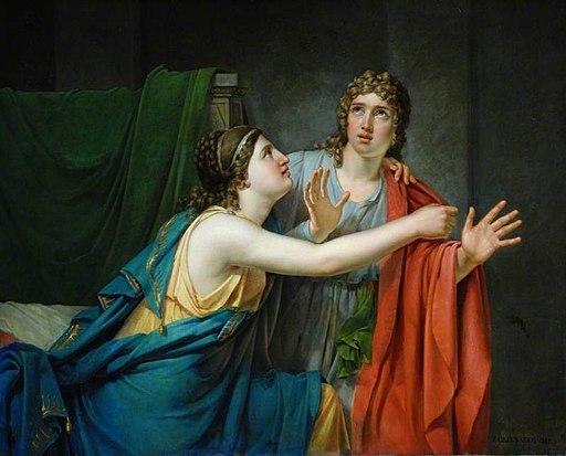 Jozef Geirnaert - Phaedra and Hippolytus