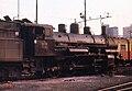Jugoslav Railways (JZ) 25 Class 2-8-0 at Ljubljana shed, August 1971.jpg