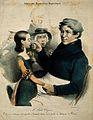 Jules-Germain Cloquet. Coloured lithograph by C. J. Travies. Wellcome V0001160.jpg