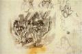 JulesPascin-1919-The Reverse of Study I-Study II.png