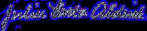 Julia Carter Aldrich - Image: Julia Carter Aldrich signature