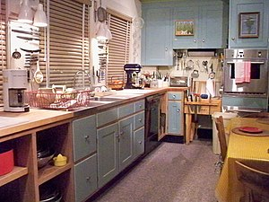 Julia Child - Julia Child's kitchen at the Smithsonian National Museum of American History.