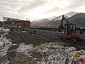 Juneau Visitors Retaining Wall 1 (6480397231).jpg